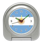 Argentine Flag Travel Alarm Clock