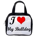 I Love My Beagle Classic Handbag (One Side)