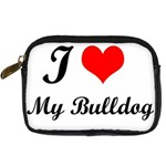 I Love My Beagle Digital Camera Leather Case