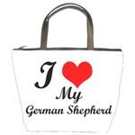 I Love My Beagle Bucket Bag