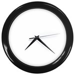 Happy Hour Wall Clock (Black)