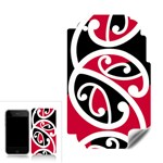 Kowhaiwhai Ngutukaka Design Apple iPhone 4 Skin