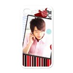 Nic Teo Apple iPhone 4 Case (White)