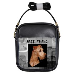 Irish Terrier Girls Sling Bag from UrbanLoad.com Front