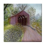 Coveredbridge300 Tile Coaster