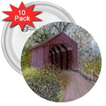 Coveredbridge300 3  Button (10 pack)