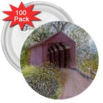 Coveredbridge300 3  Button (100 pack)