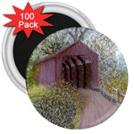 Coveredbridge300 3  Magnet (100 pack)