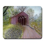 Coveredbridge300 Large Mousepad