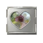 Coveredbridge300 Mega Link Heart Italian Charm (18mm)