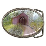 Coveredbridge300 Belt Buckle