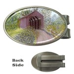 Coveredbridge300 Money Clip (Oval)