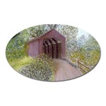 Coveredbridge300 Magnet (Oval)