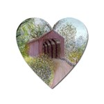 Coveredbridge300 Magnet (Heart)