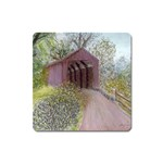 Coveredbridge300 Magnet (Square)