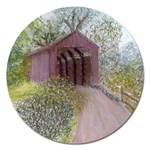 Coveredbridge300 Magnet 5  (Round)