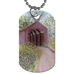 Coveredbridge300 Dog Tag (One Side)