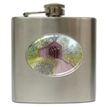 Coveredbridge300 Hip Flask (6 oz)