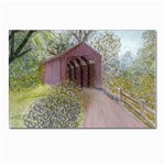 Coveredbridge300 Postcard 4 x 6  (Pkg of 10)