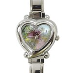 Coveredbridge300 Heart Italian Charm Watch