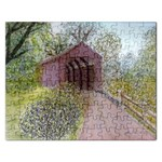 Coveredbridge300 Jigsaw Puzzle (Rectangular)