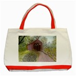 Coveredbridge300 Classic Tote Bag (Red)