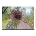 Coveredbridge300 Large Doormat