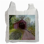 Coveredbridge300 Recycle Bag (One Side)
