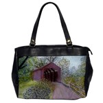 Coveredbridge300 Oversize Office Handbag (One Side)