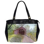 Coveredbridge300 Oversize Office Handbag (Two Sides)