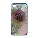 Coveredbridge300 Apple iPhone 4 Case (Black)