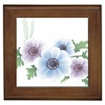 Flower028 Framed Tile