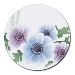 Flower028 Round Mousepad