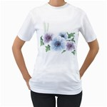 Flower028 Women s T-Shirt
