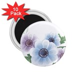 Flower028 2.25  Magnet (10 pack)