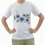 Flower028 White T-Shirt
