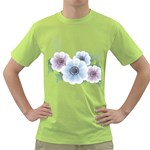Flower028 Green T-Shirt