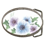 Flower028 Belt Buckle