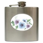 Flower028 Hip Flask (6 oz)