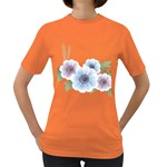 Flower028 Women s Dark T-Shirt