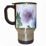 Flower028 Travel Mug (White)