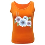 Flower028 Women s Dark Tank Top