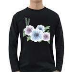 Flower028 Long Sleeve Dark T-Shirt