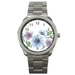 Flower028 Sport Metal Watch