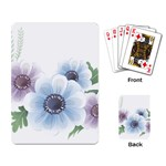 Flower028 Playing Cards Single Design