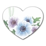 Flower028 Mousepad (Heart)