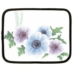 Flower028 Netbook Case (Large)