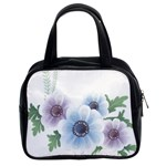 Flower028 Classic Handbag (Two Sides)