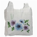 Flower028 Recycle Bag (Two Side)