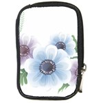 Flower028 Compact Camera Leather Case